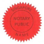 old notary seal